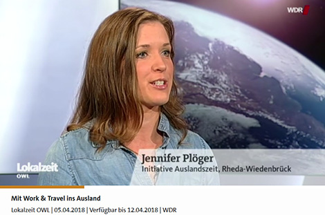 INITIATIVE auslandszeit im TV (WDR) | Mit Work and Travel ins Ausland